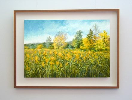 Goldenrod Morning Framed