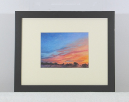 Sunset Ridge Framed