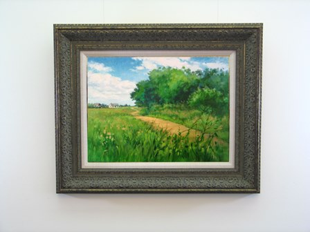 Walking The Hedgerow Framed